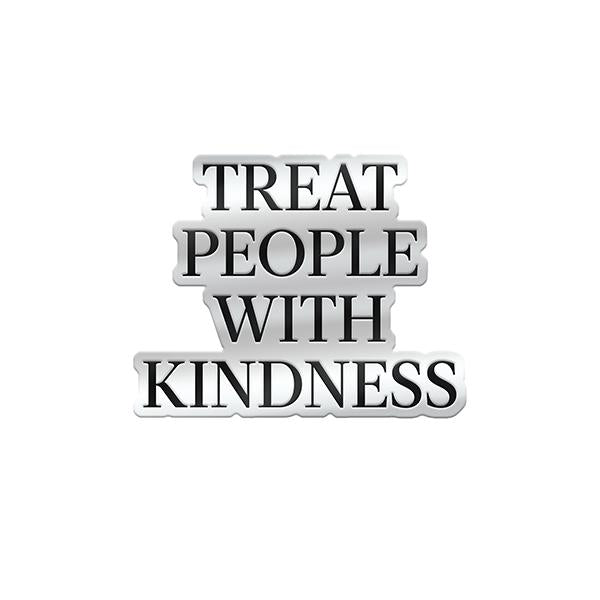 Treat People With Kindness Enamel Pin - Harry Styles UK