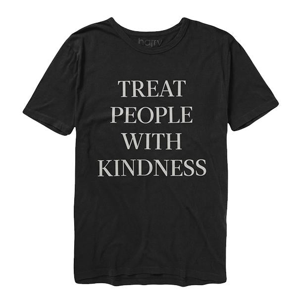 Treat People With Kindness Tee (Black) - Harry Styles UK