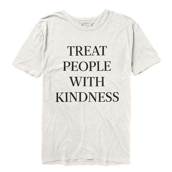 Treat People With Kindness Tee (White) - Harry Styles UK