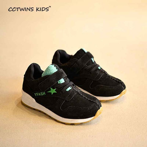 CCTWINS KIDS spring autumn baby girl fashion genuine leather shoe for children white sport trainer boy brand casual sneaker