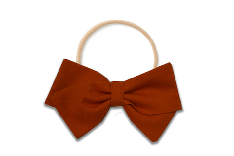 Burnt Orange - Sewn, Hand-Folded