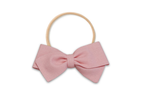 Girl Pink Bow
