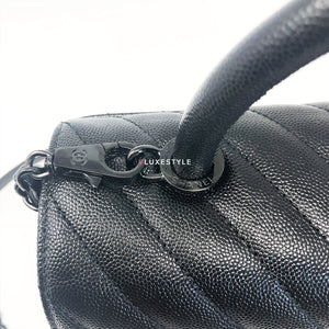 Limited Edition 18A Coco Handle So Black in Small