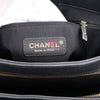 Chanel Chic Shopping Tote Black Chevron Calfskin with shiny gold hardware