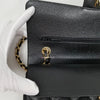 Chanel Classic Black Medium Double Flap Caviar with gold hardware