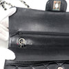 Chanel Classic Medium Double Flap Black Quilted Caviar with silver hardware