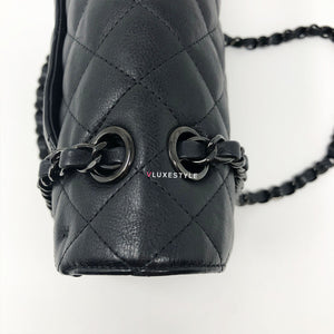 Final payment/Order 1133 : 17S Classic Medium So Black Crumpled Calfskin