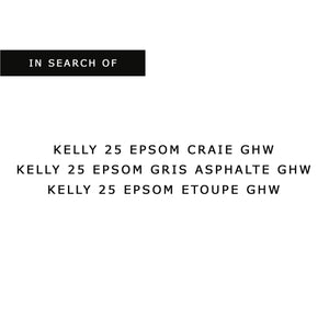 IN SEARCH OF KELLY 25