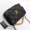 Chanel Small 19 Flap 20C Black Lambskin with mixed hardware