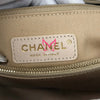 Chanel Coco Handle 20K Iridescent White Quilted Caviar with shiny light gold hardware