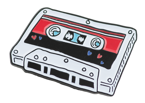 "Mixtape 2018 1"" Enamel Pin (Plus Free Mixtape 2018 Download)"