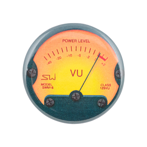 "Vintage VU Meter 1.25"" Button"