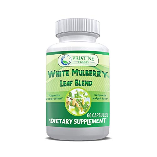 Pristine Foods White Mulberry Leaf Extract Complex 1000mg Plus