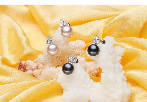 Natural Freshwater Silver Pear Jewelry Set - Best Selling Good Quality Cheap Affordable