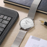 Silver-Tone Stainless Steel Watch - Best Selling Good Quality Cheap Affordable