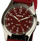 INFANTRY Glow in Dark Red Wristwatch, Men's Watch - Best Selling Good Quality Cheap Affordable
