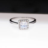 Large Square CZ Fine Jewelry Women Ring - Best Selling Good Quality Cheap Affordable
