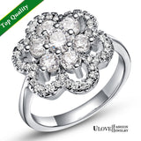 Exquisite Big Flower Silver Ring - Best Selling Good Quality Cheap Affordable