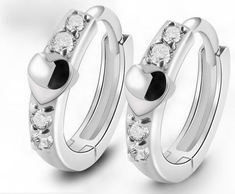 Love Accessories, Silver Stud Earrings - Best Selling Good Quality Cheap Affordable