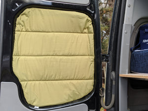 2007-2017 Mercedes Sprinter Premium Crew Barn Door Insulated Window Covers (pair)