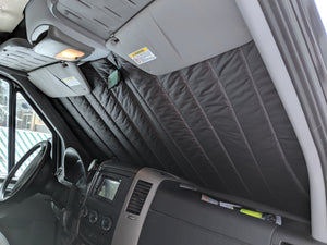 2019+ Mercedes Sprinter Insulated Windshield Cover