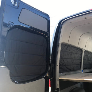 2007+ Mercedes Sprinter 170 Passenger Rear Quarter Panel Insulated Window Covers (pair)