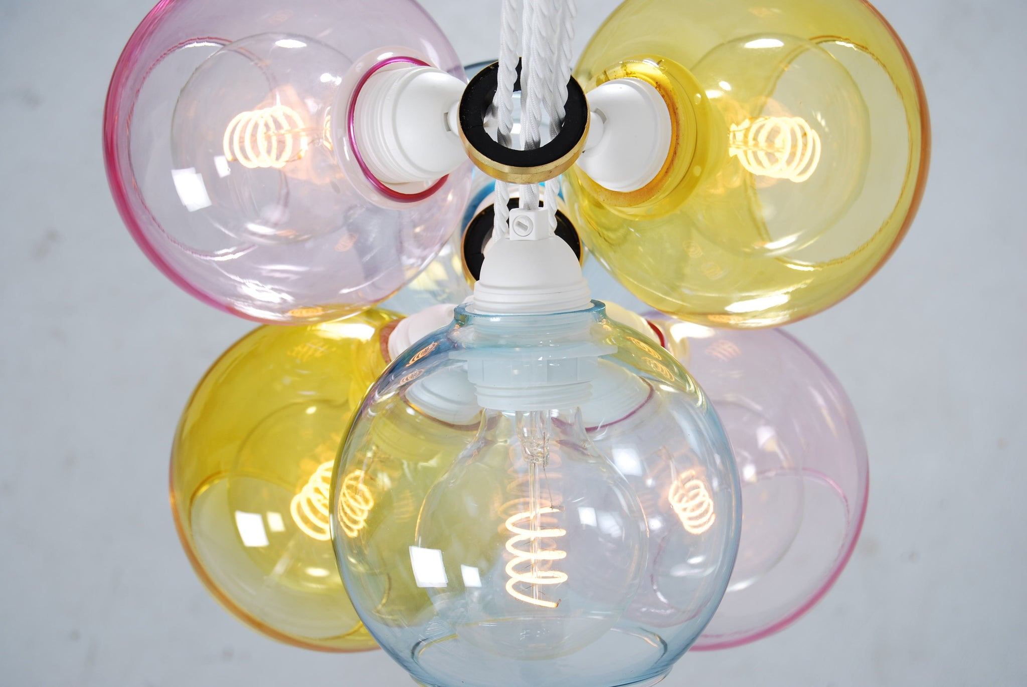 EXI Mix One Glass Chandelier