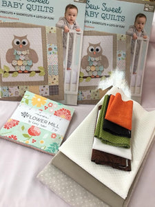Adventure Owl (girl) KIT WITH PATTERN