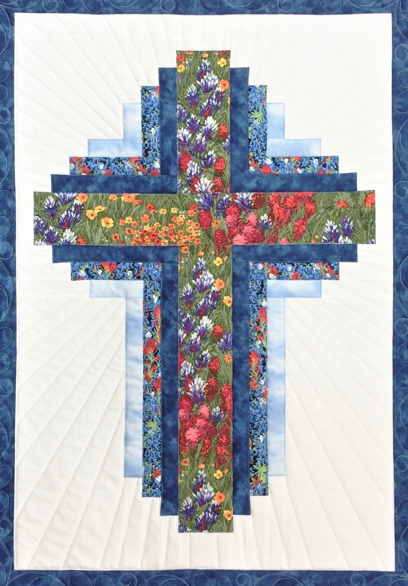 Hope Of Texas Cross Pattern Only Lake Area Quilts 409