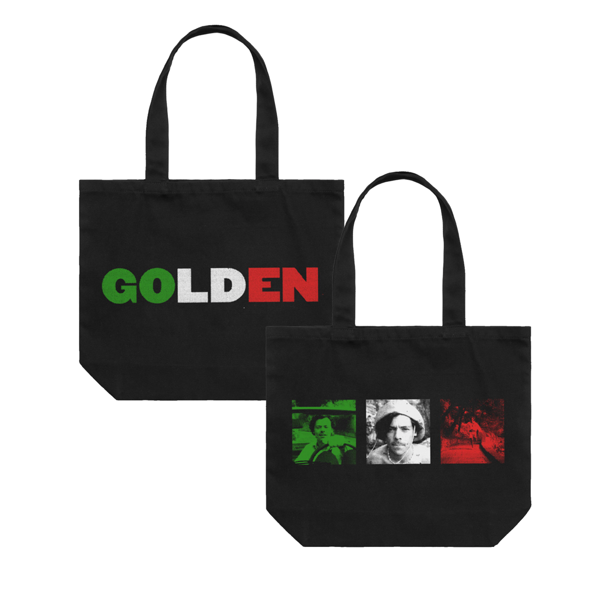 Golden Photo Tote