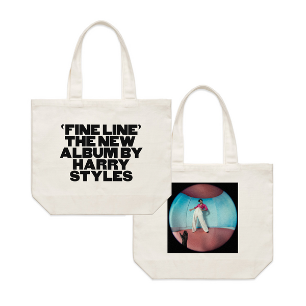 Fine Line Album Tote Bag + Digital Download - Harry Styles EU