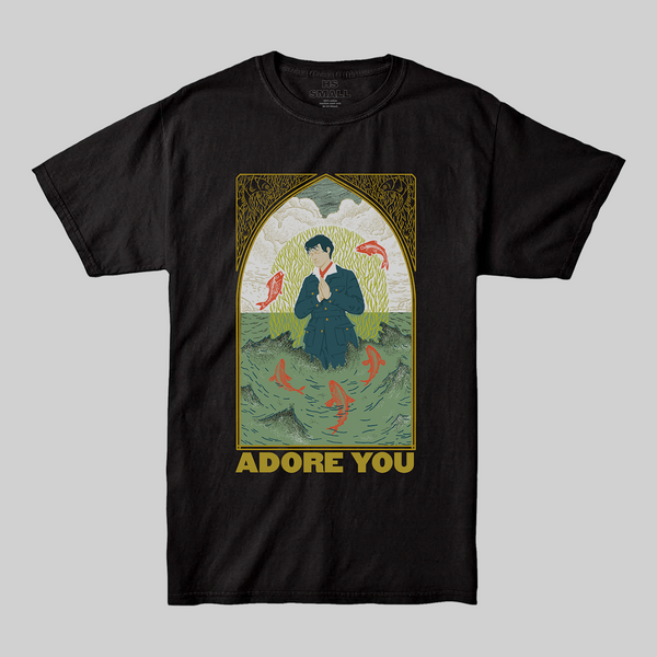 Adore You Black Tee + Digital Download - Harry Styles EU
