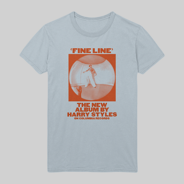 Blue Fine Line Vintage Promo Tee + Digital Download - Harry Styles EU