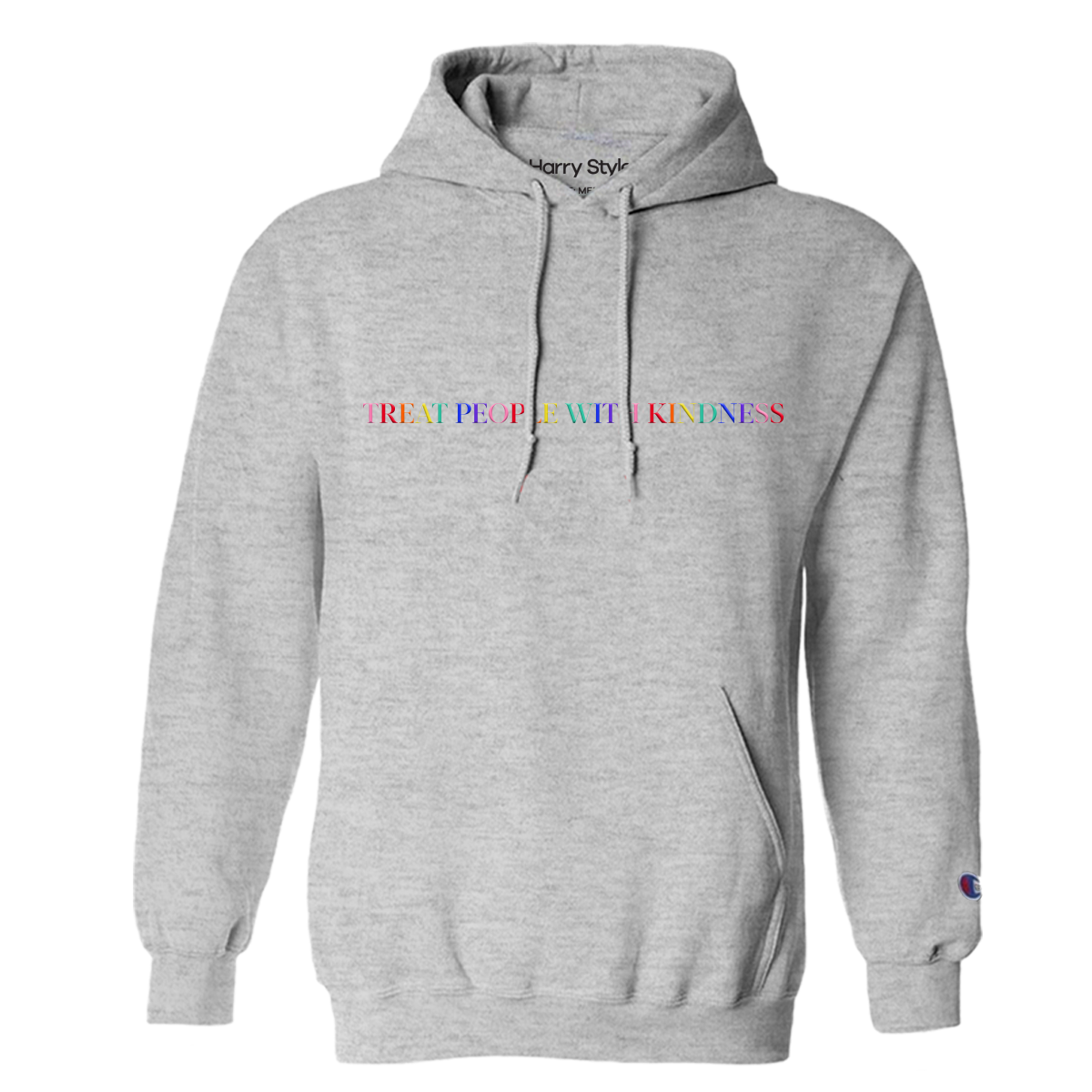 Treat People With Kindness Hoodie (Grey) - Harry Styles EU