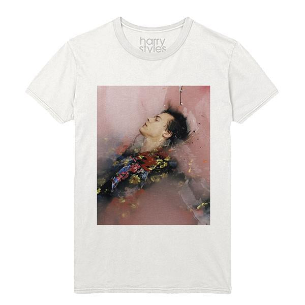 HARRY STYLES BATHTUB TEE WHITE
