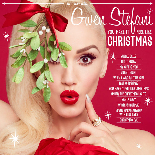You Make It Feel Like Christmas CD - Gwen Stefani