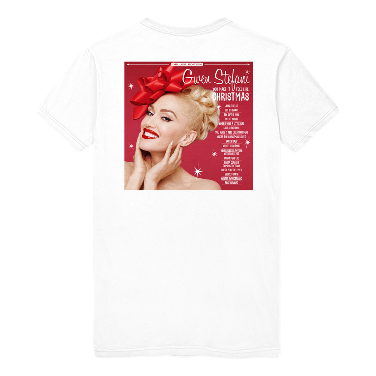 Exclusive Christmas Album Tee - Gwen Stefani