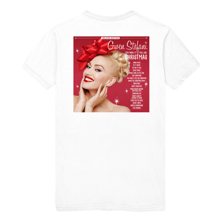 Exclusive Christmas Album Tee-Gwen Stefani