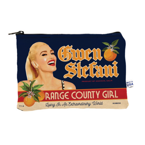 Orange County Makeup Bag - Gwen Stefani
