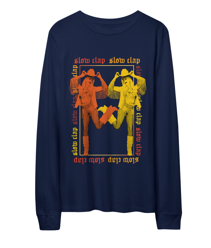 Slow Clap Mirror Image Long Sleeve