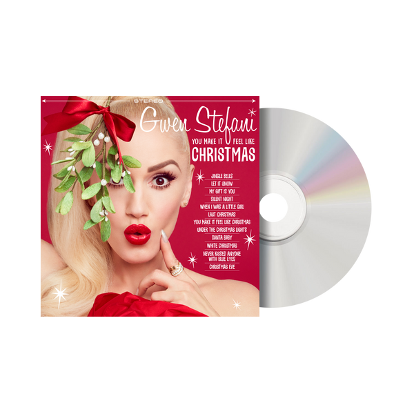 CD + Exclusive T-Shirt + Christmas Cards + Ornament - Gwen Stefani