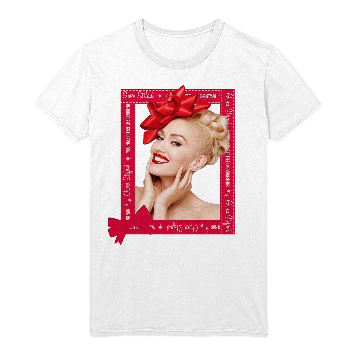Exclusive Holiday Gwen Tee - Gwen Stefani