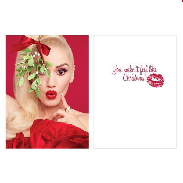 Holiday Card 5 Pack - Gwen Stefani