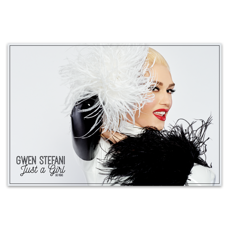 Feather Poster-Gwen Stefani