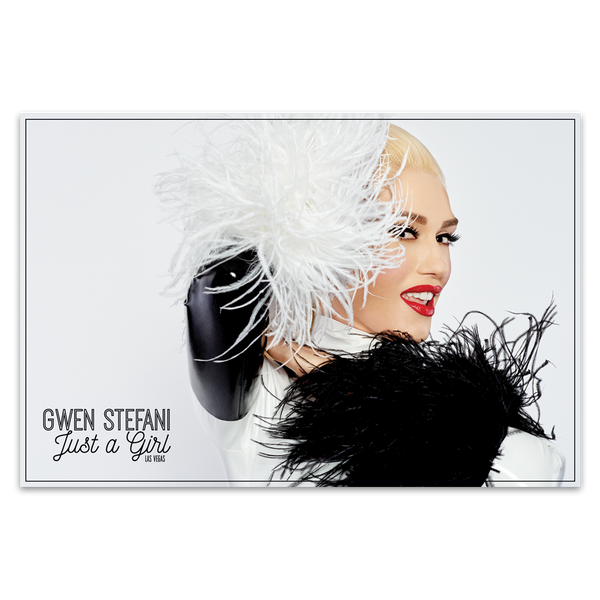 Feather Poster - Gwen Stefani