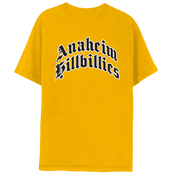 Anaheim Hillbillies Yellow T-Shirt