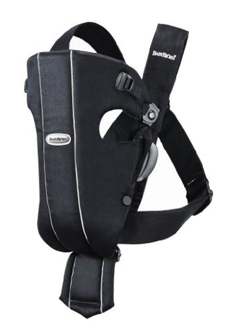 BABYBJORN Baby Carrier Original, Black, Cotton