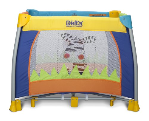 "Delta Children 36"" x 36"" Play Yard, Fun Time"
