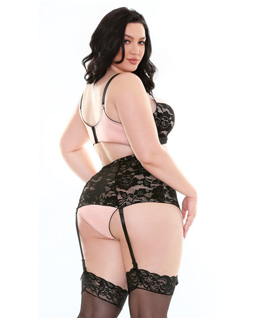 Curve Margot Contour Cup Bralette & High Waist Panty Set