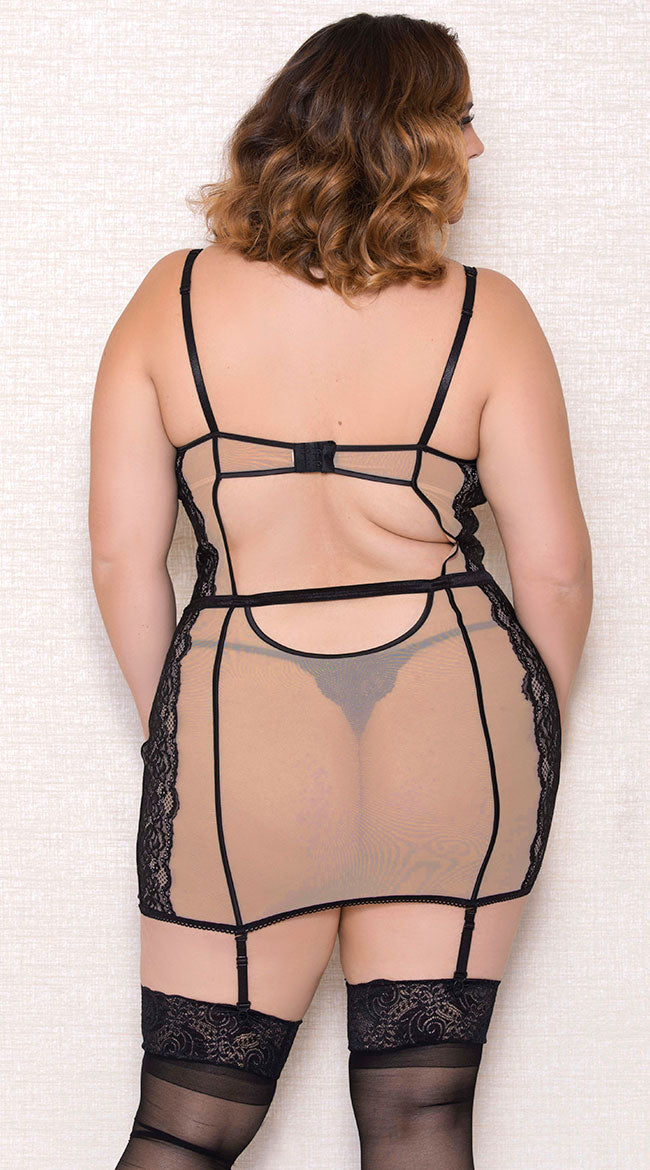 Barely There Plus Size Chemise